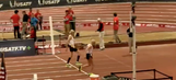 Footrace between 99-year-old and 92-year-old ends in electrifying photo finish