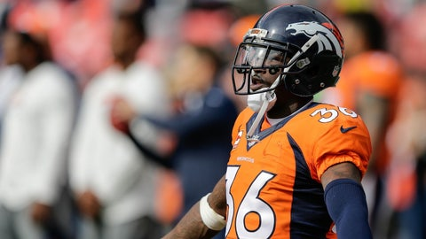 CB Kayvon Webster (Broncos)