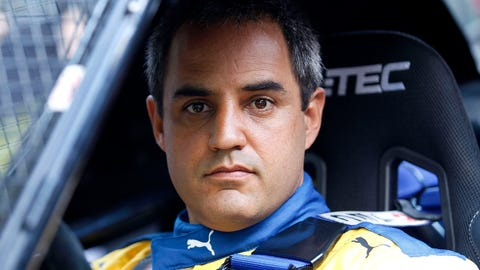 Juan Pablo Montoya pictured at the 2017 Race of Champions. (Photo: Alexander Trienitz/LAT Photographic)