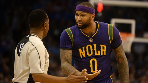 DeMarcus Cousins, NBA