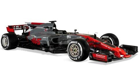 Haas F1 Team FV17