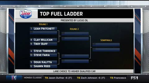 Top Fuel - Left Side