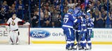 Kucherov's hat trick launches Lightning past Senators