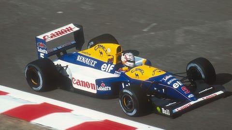 1992: Williams FW14B