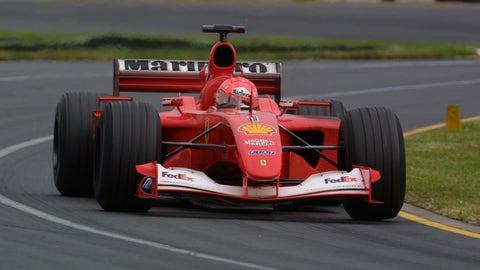 2001: Ferrari F2001