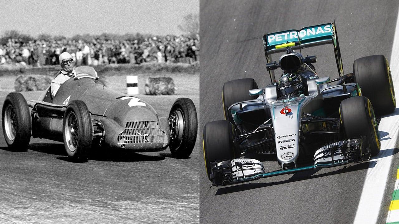 All 67 F1 Driver Championship Winning Cars Fox Sports