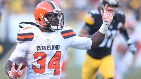 Isaiah Crowell, Browns