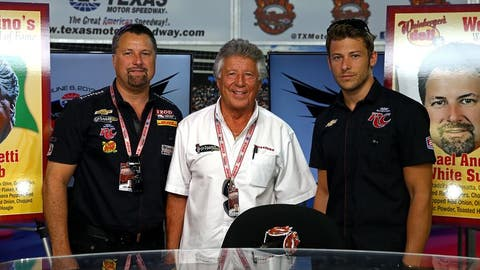 The Andretti family