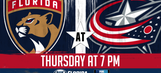 Florida Panthers at Columbus Blue Jackets game preview
