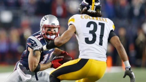 Skip Bayless: Give us your breakdown of Julian Edelman as a receiver