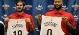 Pelicans welcome DeMarcus Cousins, Omri Casspi