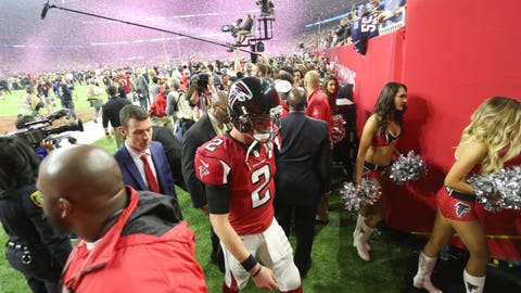 Shannon: The Patriots were brilliant, but the Falcons choked