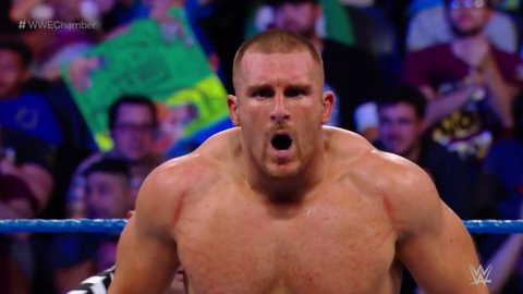 Mojo Rawley defeated Curt Hawkins