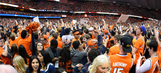 Watch Syracuse stun No. 10 Duke with a deep three at the buzzer