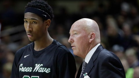 Mike Dunleavy Sr., Tulane Green Wave