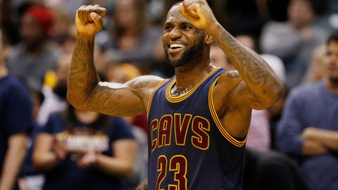 "LeBron James: ""I'll rest when I retire."""