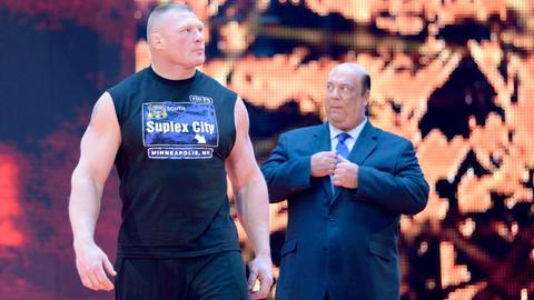 Brock Lesnar vs. Goldberg
