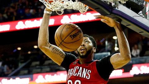Anthony Davis, F/C, New Orleans Pelicans