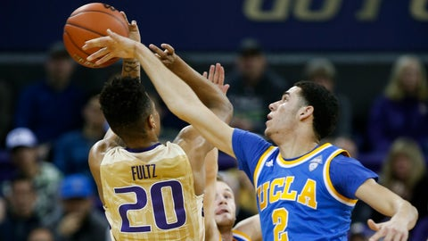 Lonzo Ball wins the battle of lottery picks with Markelle Fultz