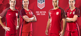 The USMNT and USWNT have a brand new, very red kit
