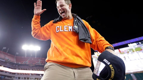 Clemson: Its two biggest games are at home