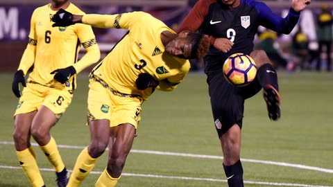 February 3: USA 1-0 Jamaica