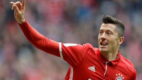 Robert Lewandowski - 42 points