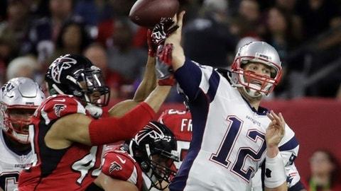 Most career Super Bowl passing yards: 2,071, Tom Brady