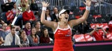 Switzerland beats France 4-1, advances to Fed Cup semifinals