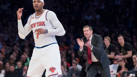 Will Carmelo Anthony waive his no-trade clause?