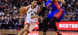Harris leads Pistons to 102-101 comeback win over Raptors