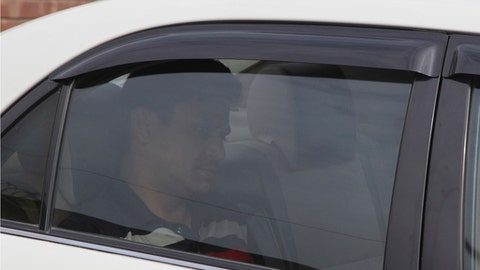 Pakistan cricketer Khalid Latif leaves Gaddafi Stadium after appearing before Pakistan Cricket Board's anti-corruption unit in Lahore, Pakistan, Thursday, Feb.16, 2017. Latif has been provisionally suspended by the PCB for alleged spot-fixing in the Pakistan Super League. (AP Photo/K.M. Chaudhry)