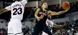 No. 15 Florida holds on to beat Mississippi State 57-52