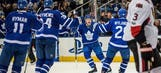 Sens rally after blowing lead, beat Leafs to gain on Habs