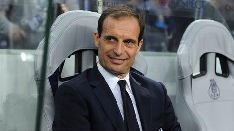 Manager: Massimiliano Allegri, Juventus