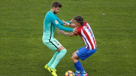 Left back: Filipe Luis (Atletico Madrid)