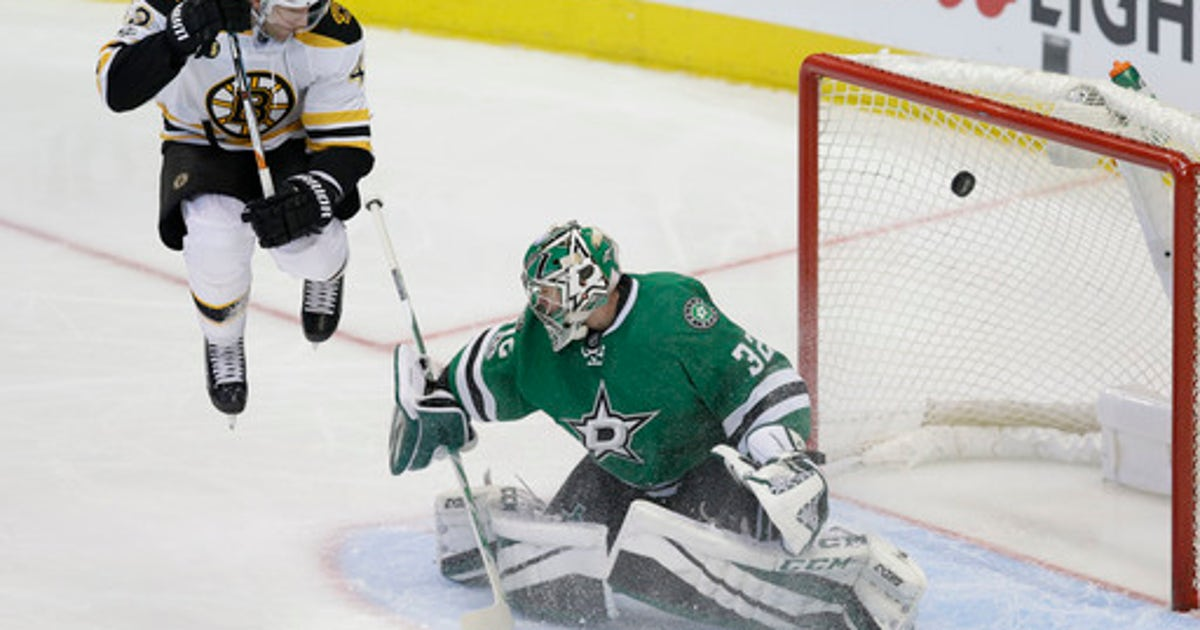 Bergeron scores 2, Bruins beat Stars 6-3 to end winning trip | FOX Sports