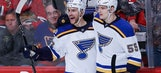 Now what? Inconsistent Blues move on without Shattenkirk