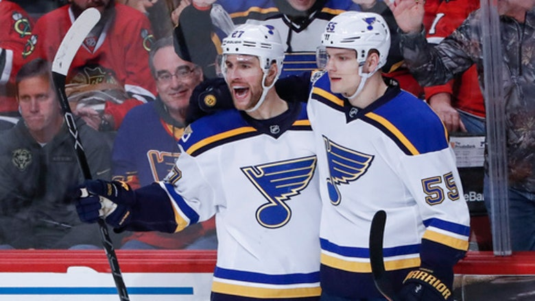Blues have chance to regain more playoff ground against Blackhawks