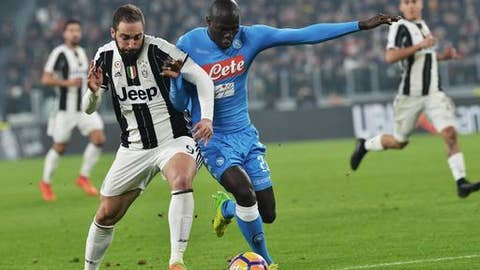 Gonzalo Higuain's return to Napoli