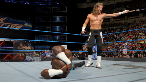 Kalisto and Apollo Crews vs. Dolph Ziggler in a 2-on-1 handicap match