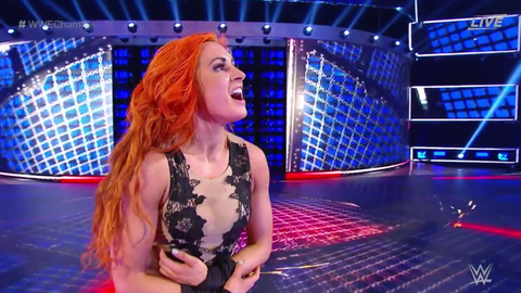 Becky Lynch defeated Mickie James