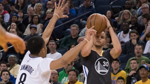Skip: Steph hasn't played like an MVP in the playoffs yet