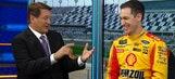 Joey Logano Interview at Daytona Media Day | NASCAR RACE HUB
