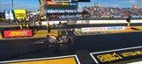Rickey House Wins Top Fuel Harley Final at Phoenix | 2017 NHRA DRAG RACING