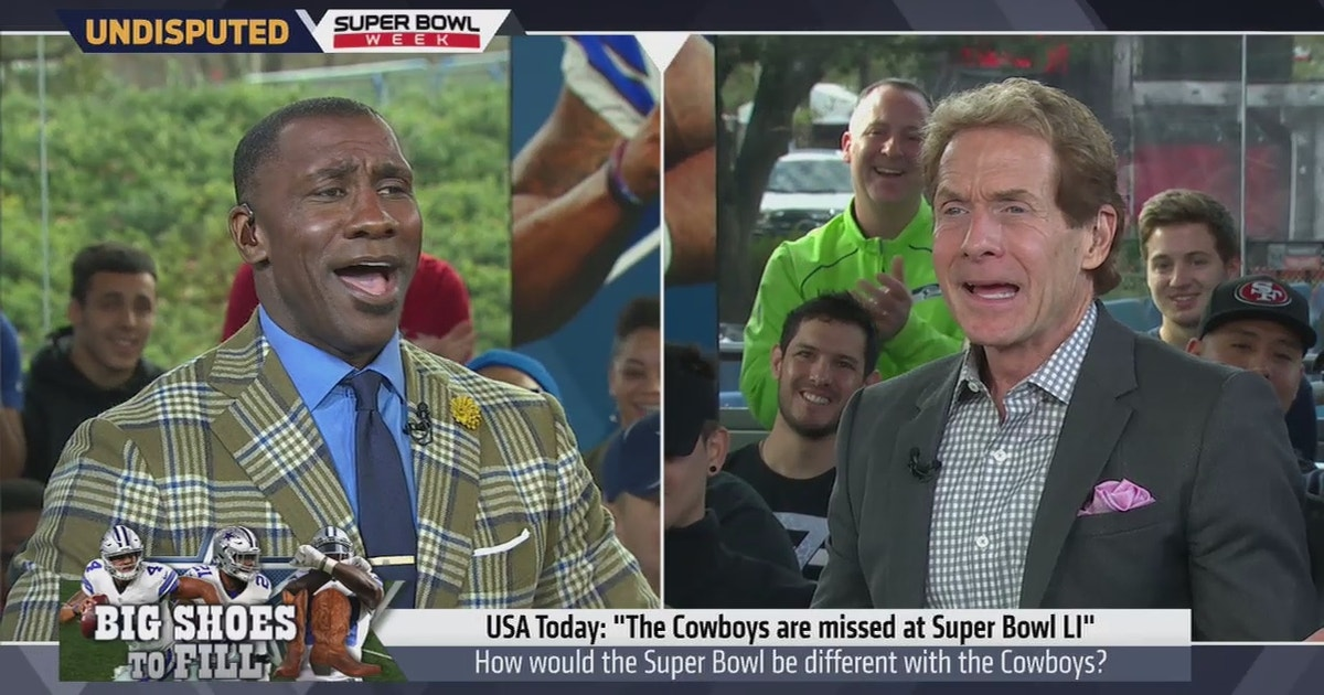 Skip Bayless explains why the Cowboys are missed at Super Bowl LI ... 687589c81