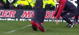 Rangers manager does headstand after missed chance | 2016-17 Scottish Premiership Highlights
