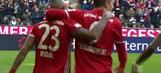 Robert Lewandowski score twice for Bayern Munich | 2016-17 Bundesliga Highlights