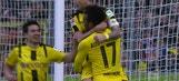 Aubameyang scores for Dortmund | 2016-17 Bundesliga Highlights