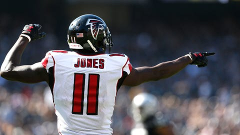 Shannon Sharpe: Julio Jones, and it's not close